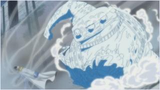 โจสถูกอาโคคิจิแช่แข็ง