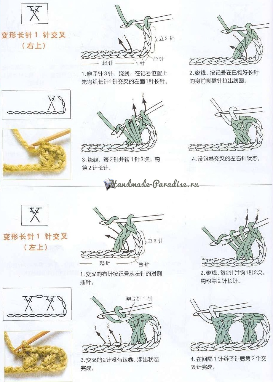 Ангел крючком, более 30 схем вязания