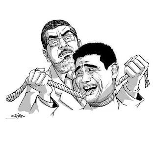نكت عن نجاح مرسي بانتخابات الرئاسة