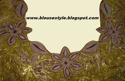 designer boutique back neck blouse