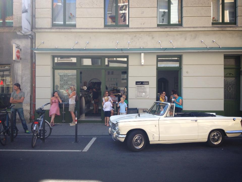 eisdielencheck il gelato di fergio in k ln bayenthal. Black Bedroom Furniture Sets. Home Design Ideas