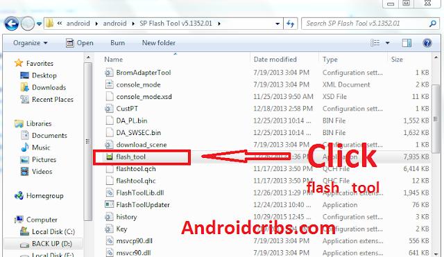 Click Flash Tool
