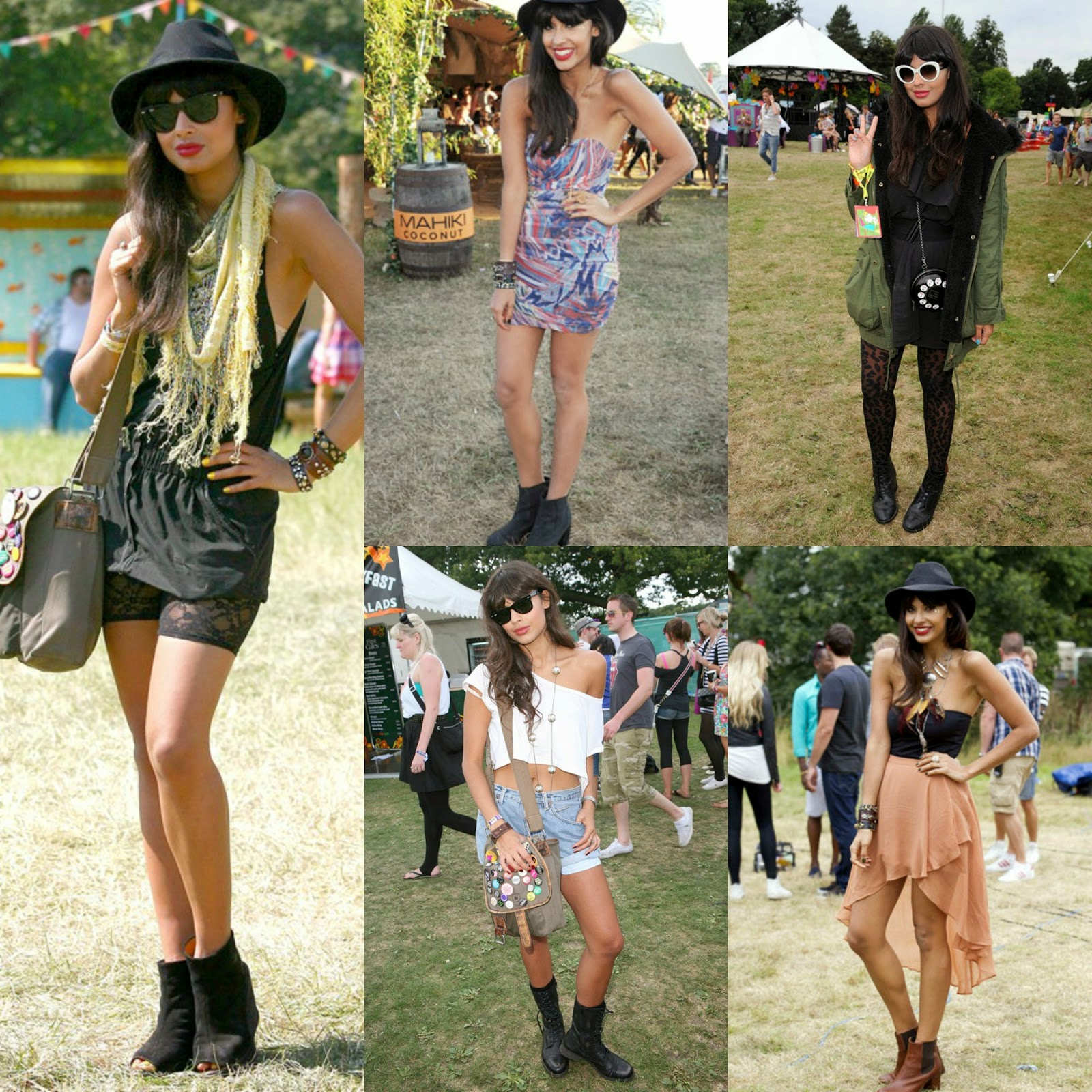 Jameela Jamil Music Festival Fashion