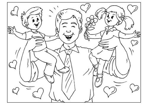 Padre E Hijo Imagenes Para Dibujar