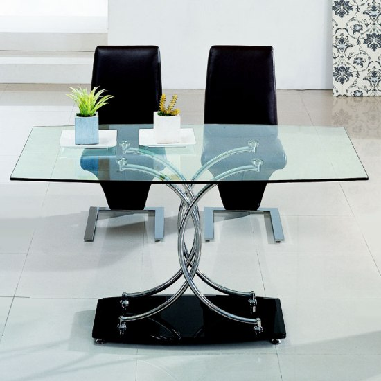 Outstanding Modern Glass Top Dining Tables 550 x 550 · 49 kB · jpeg