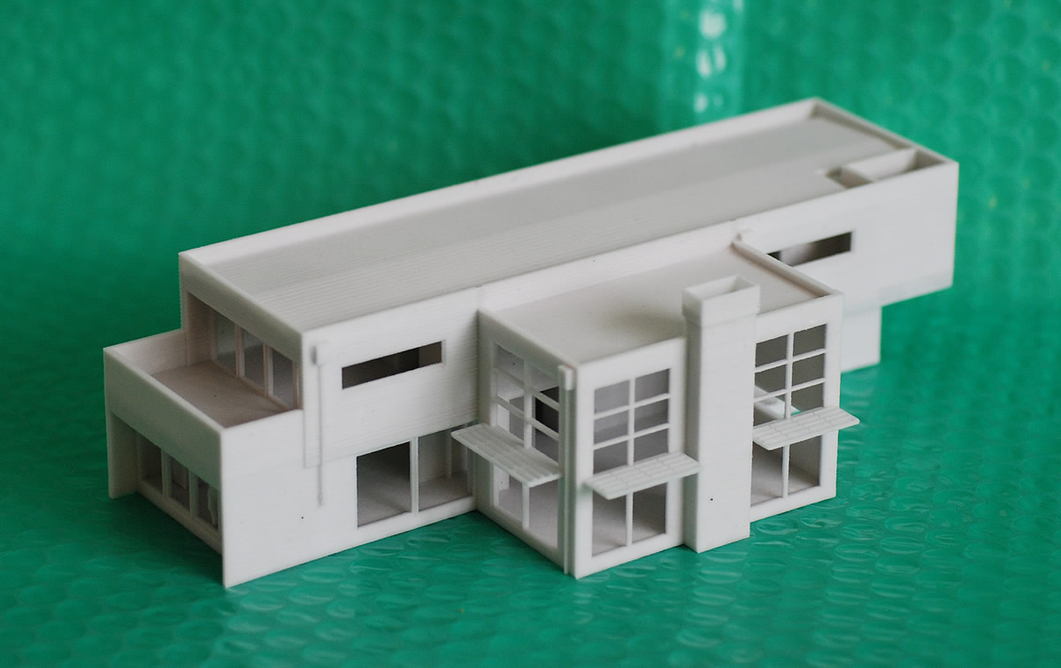 usa and uk universities 3d printed house models printed