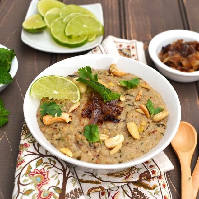 Haleem/ Vegetarian Haleem