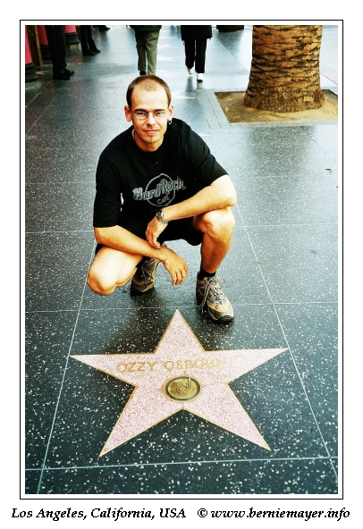 Bernie @ the Walk of Fame