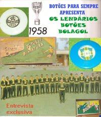 Futebol Miniatura - Botões Bolagol