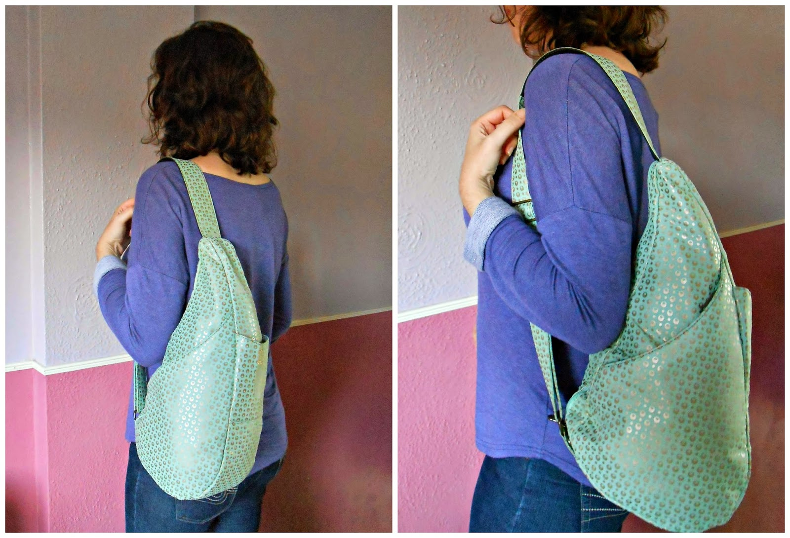 Healthy Back Bag Summer Sheer Mint