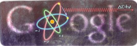 Mengenang Niels Bohr Bersama Google Doodle