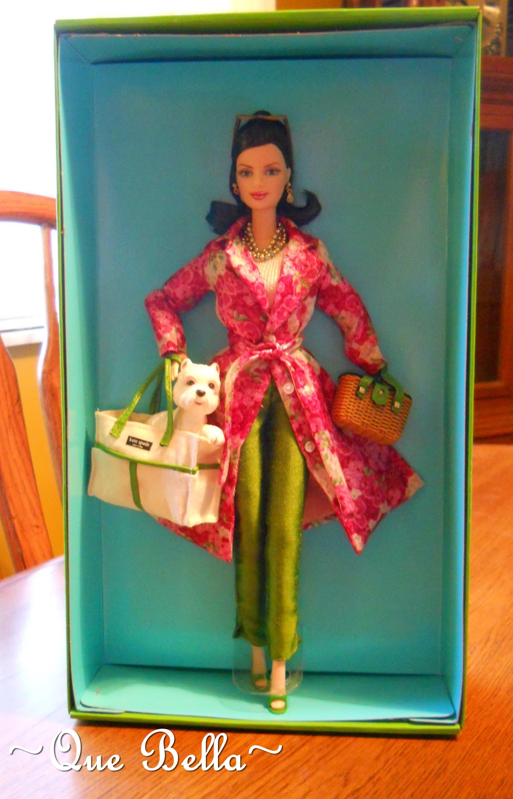 Que Bella Kate Spade Barbie Time