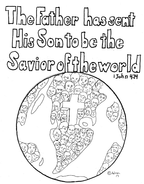 john 3 coloring pages - photo#30