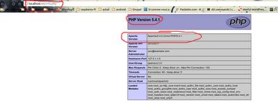 php 5.4.1 + Apache 2.4.2 sur localhost:88