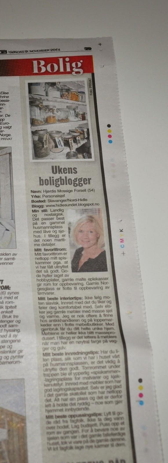 Ukens Boligblogger i VG