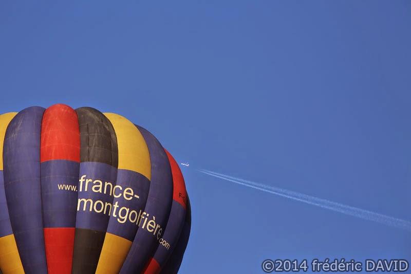 ciel aérien montgolfière ballon avion Seine-et-Marne