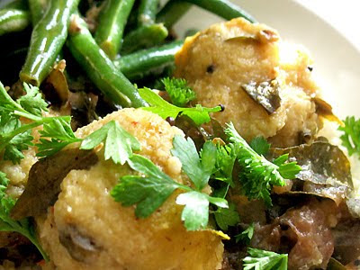 lentil dumplings