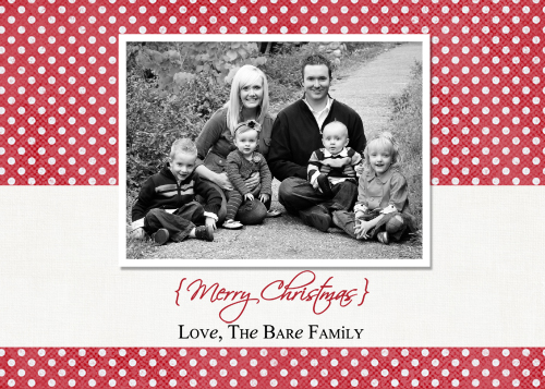 25 free christmas card printables the holiday helper for Free christmas card templates for photographers