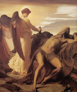 Elijah in the Wilderness (1878) By Lord Frederick Leighton