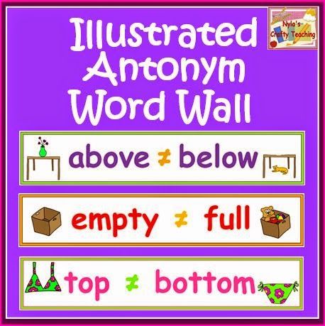 Antonyms-Word-Wall-cards