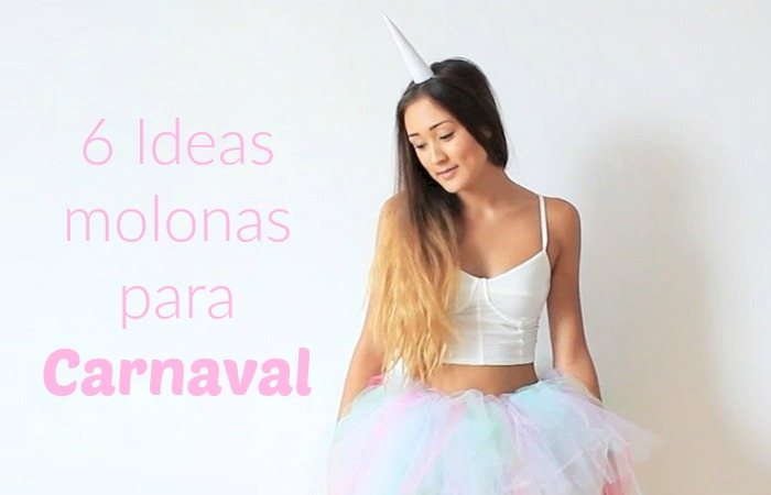 Disfraces de carnaval para mujeres faciles de hacer