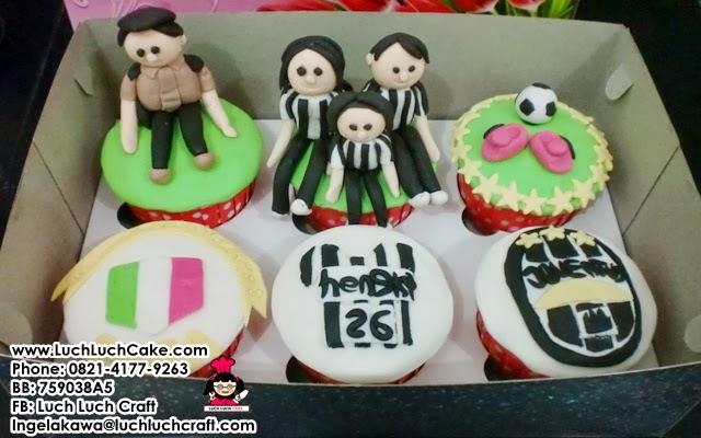 Cupcake Juventus Keluarga Daerah Surabaya - Sidoarjo