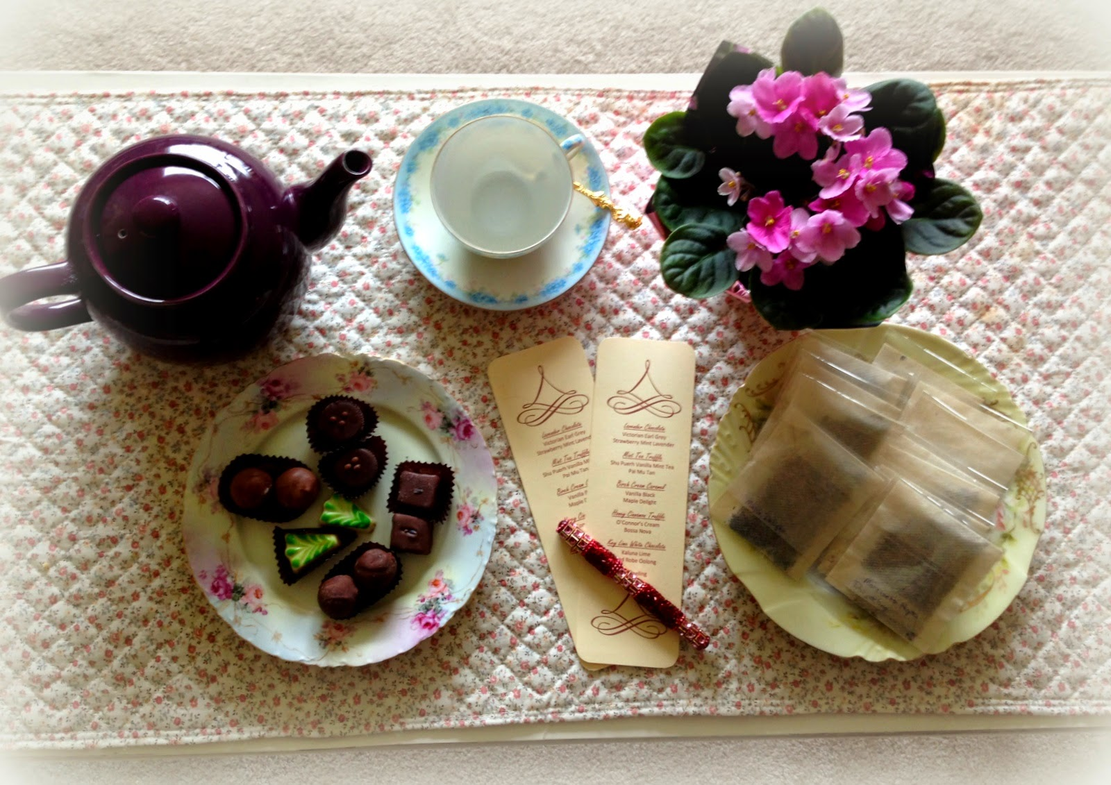 Chocolate & Tea