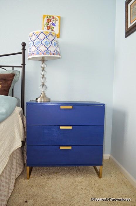 Ikea Vanity Table With Lights ~ Ikea TRYSIL Dresser makeover , Ikea TRYSIL Dresser makeover inspired