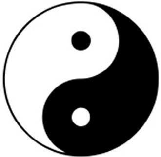 陰陽の法則(万物の定理)<br>下絵は古代中国の人が説いた宇宙に存在<br>するすべての事柄の法則を表した物です。