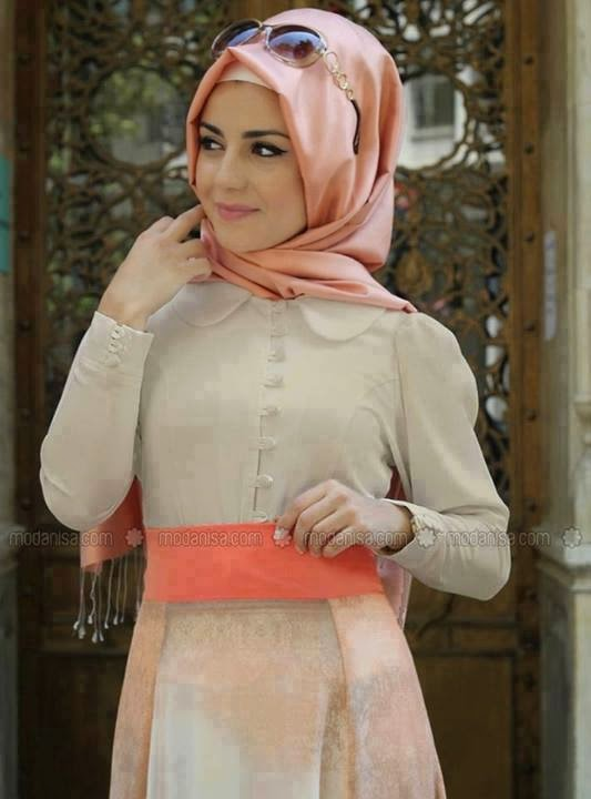 tenue-hijab-rose-chic-2015
