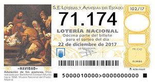 Pagos de la lotería de Navidad
