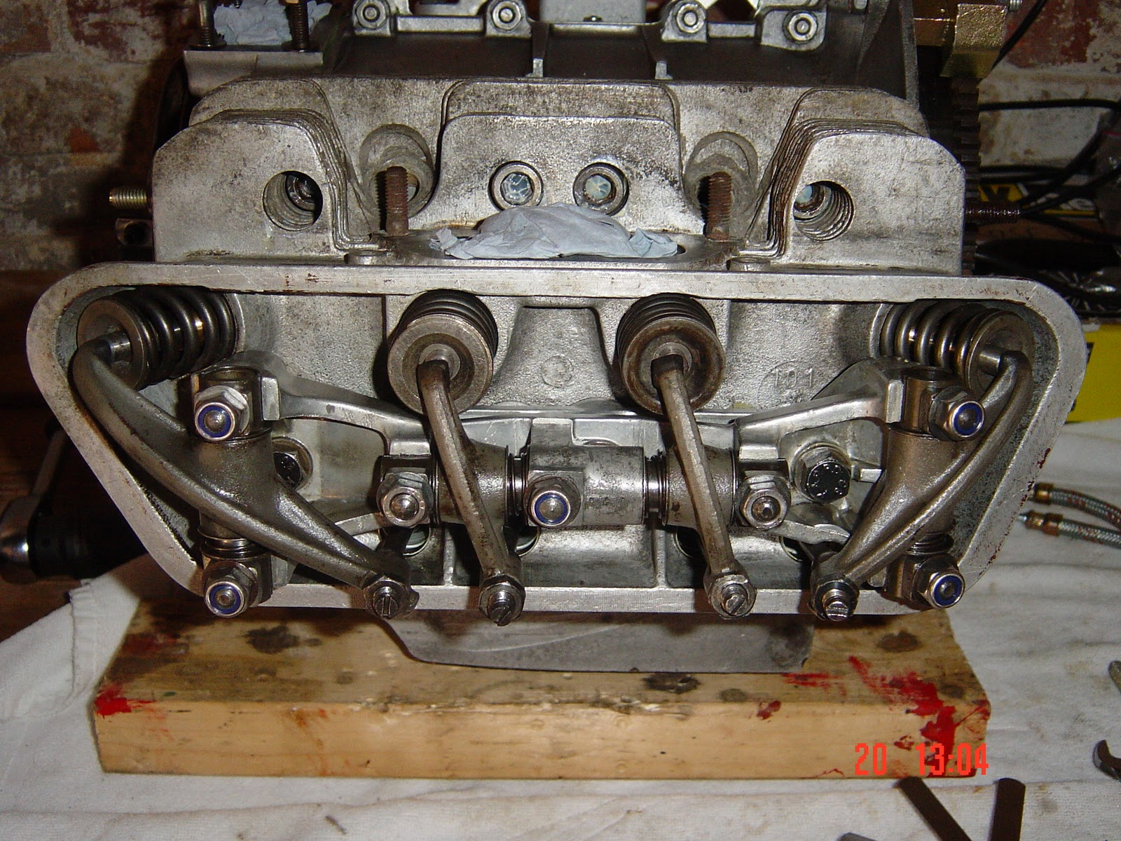 Porsche 356 Engine Build Rebuild Repair 12 Pushrods