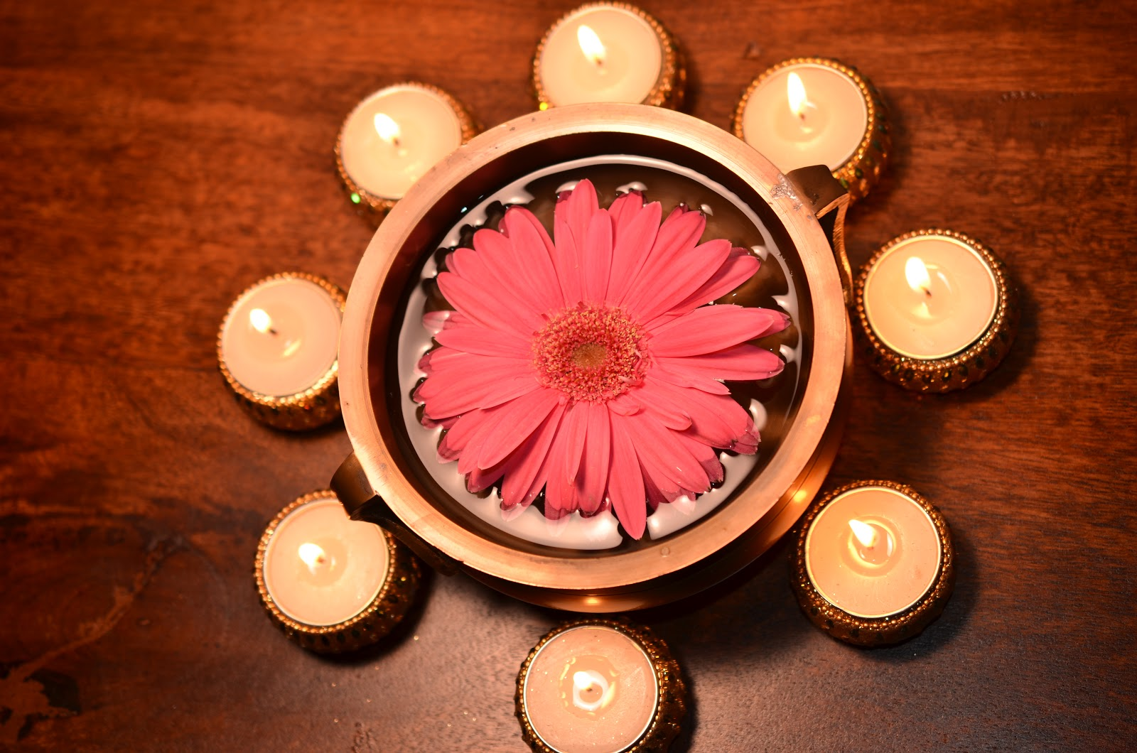 aalayam colors cuisines and cultures inspired diwali another diwali depiction from my home brass urli from overstock pic by uj