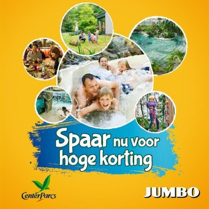 www.centerparcs.nl jumbo actie