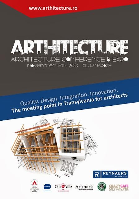 Expo Conferinta ARThitecture, Prima editie, Cluj Arena