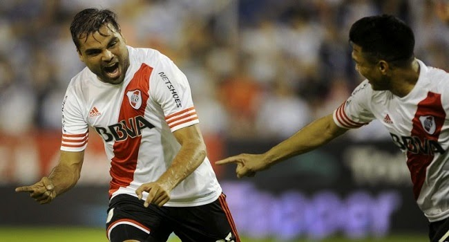 Gabriel Mercado, autor del gol del empate
