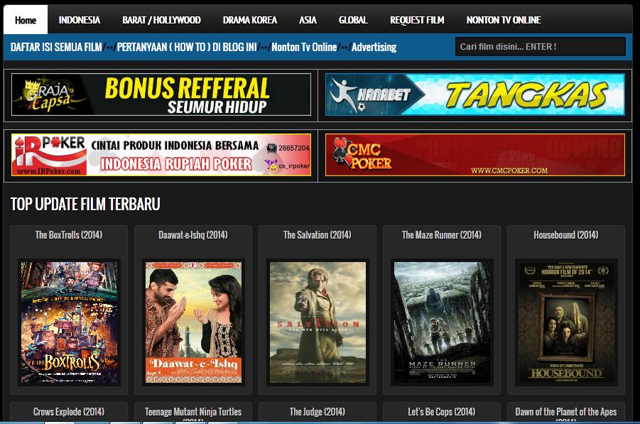 2 Situs Nonton Film Online Subtitle Indonesia