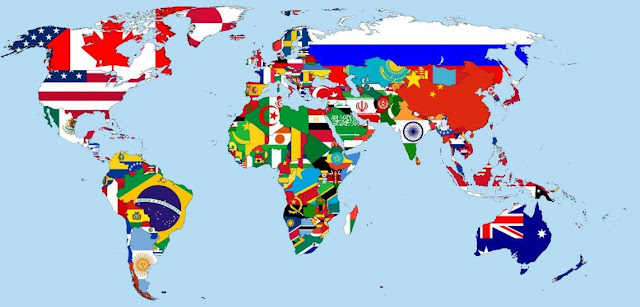 Paises del mundo y Derecho Internacional