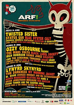 Twisted Sister, The Mars Volta o M. Ward al Azkena Rock Festival