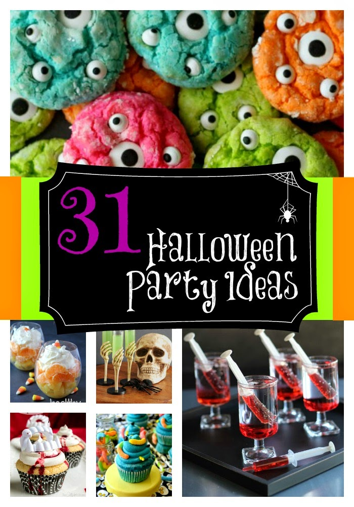 31 Halloween Party Ideas