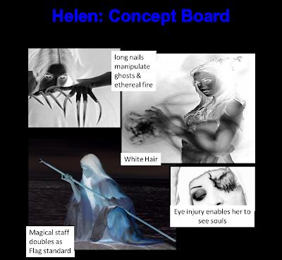 Helen Concept Board