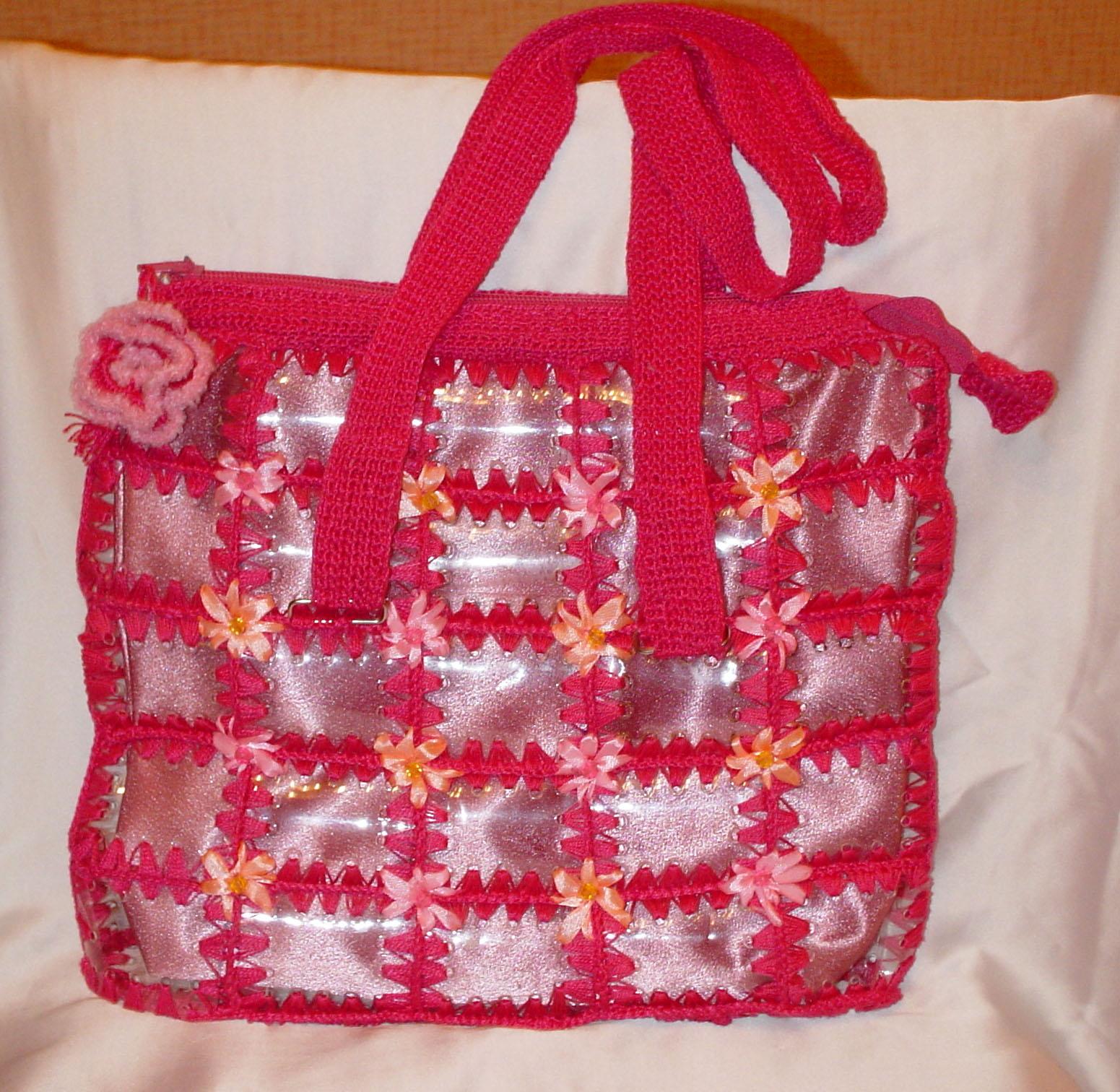 Как сделать пластиковую сумку