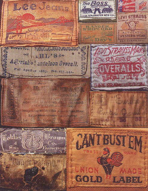 Carto 3 reference patches for jeans