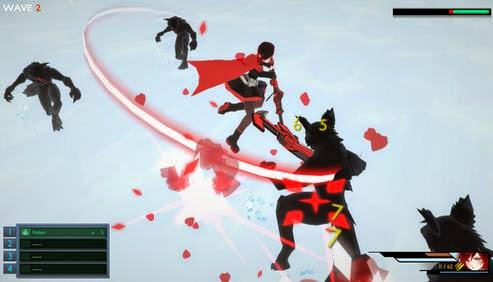 Gameplay RWBY: Grim Eclipse