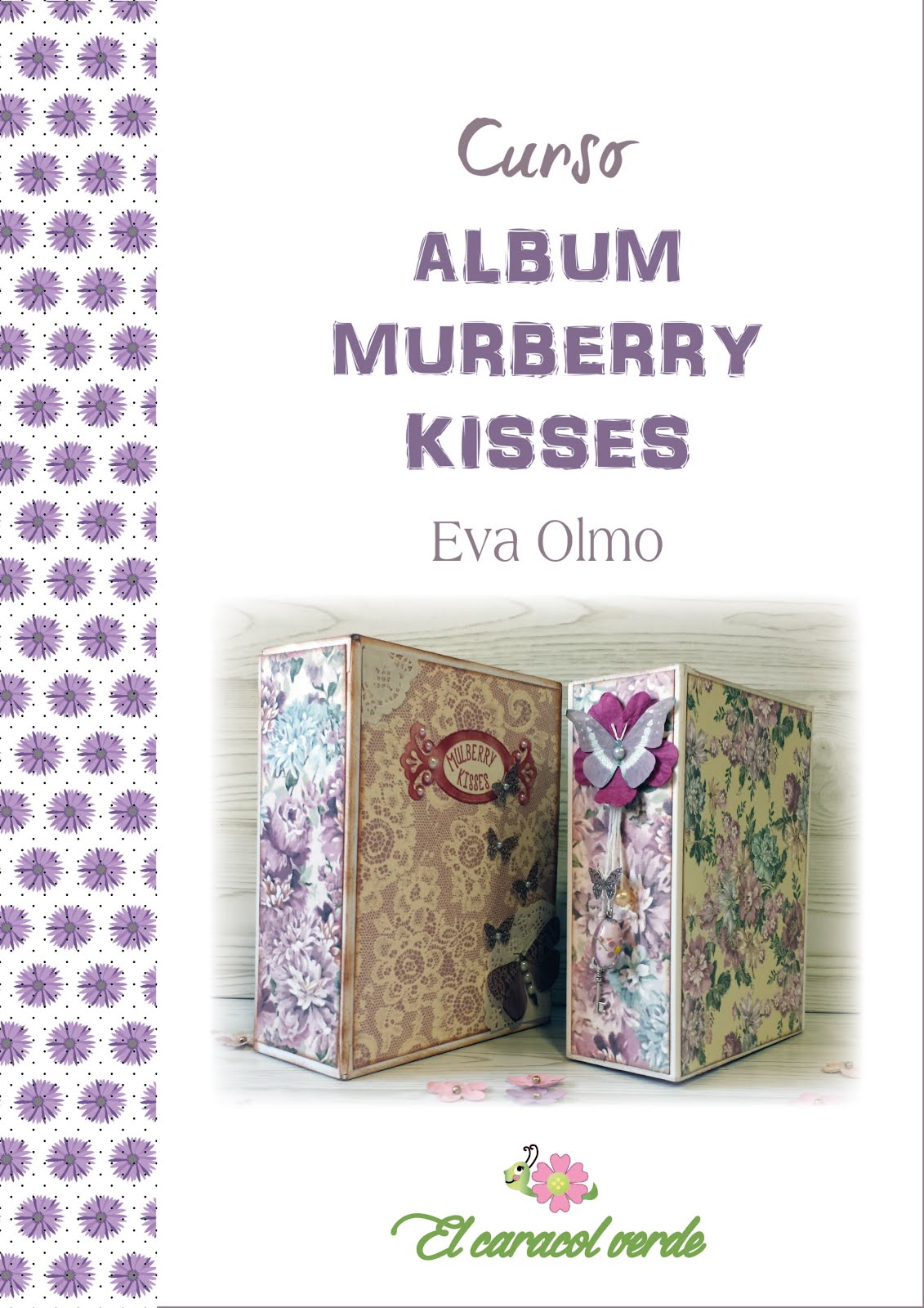 Curso Album Murberry Kisses