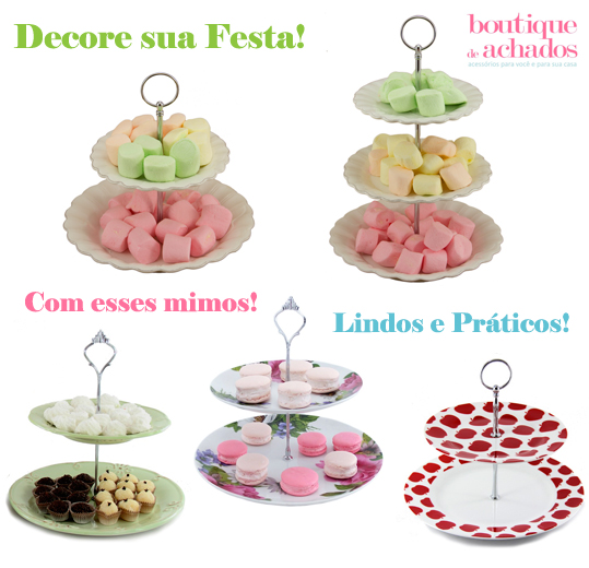 porcelana branca, porcelana provençal, prato de doce 2 andares, prato para cupcake, decoração para mesa de festa