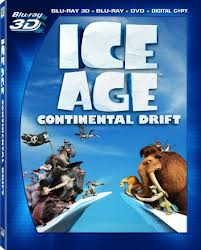Blu-ray cover for  Ice Age: Continental Drift animatedfilmreviews.filminspector.com 2012