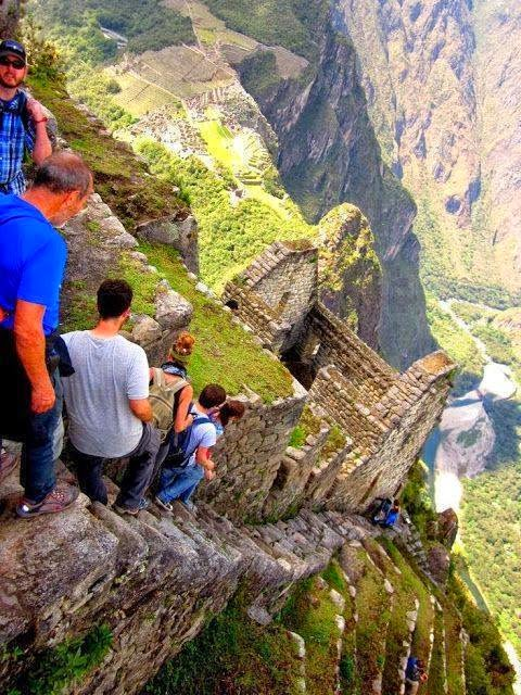 Hiking Huayna Picchu, Peru