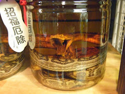 Japanese Snake Wine