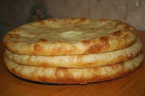 Осетинский пирог с мясом рецепт с пошагово в духовке тесто